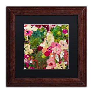 Carrie Schmitt 'Intuition' Matted Framed Art