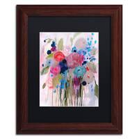 Carrie Schmitt 'Fresh Bouquet' Matted Framed Art