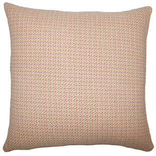 Paley Plaid 22-inch Down Feather Throw Pillow Multi
