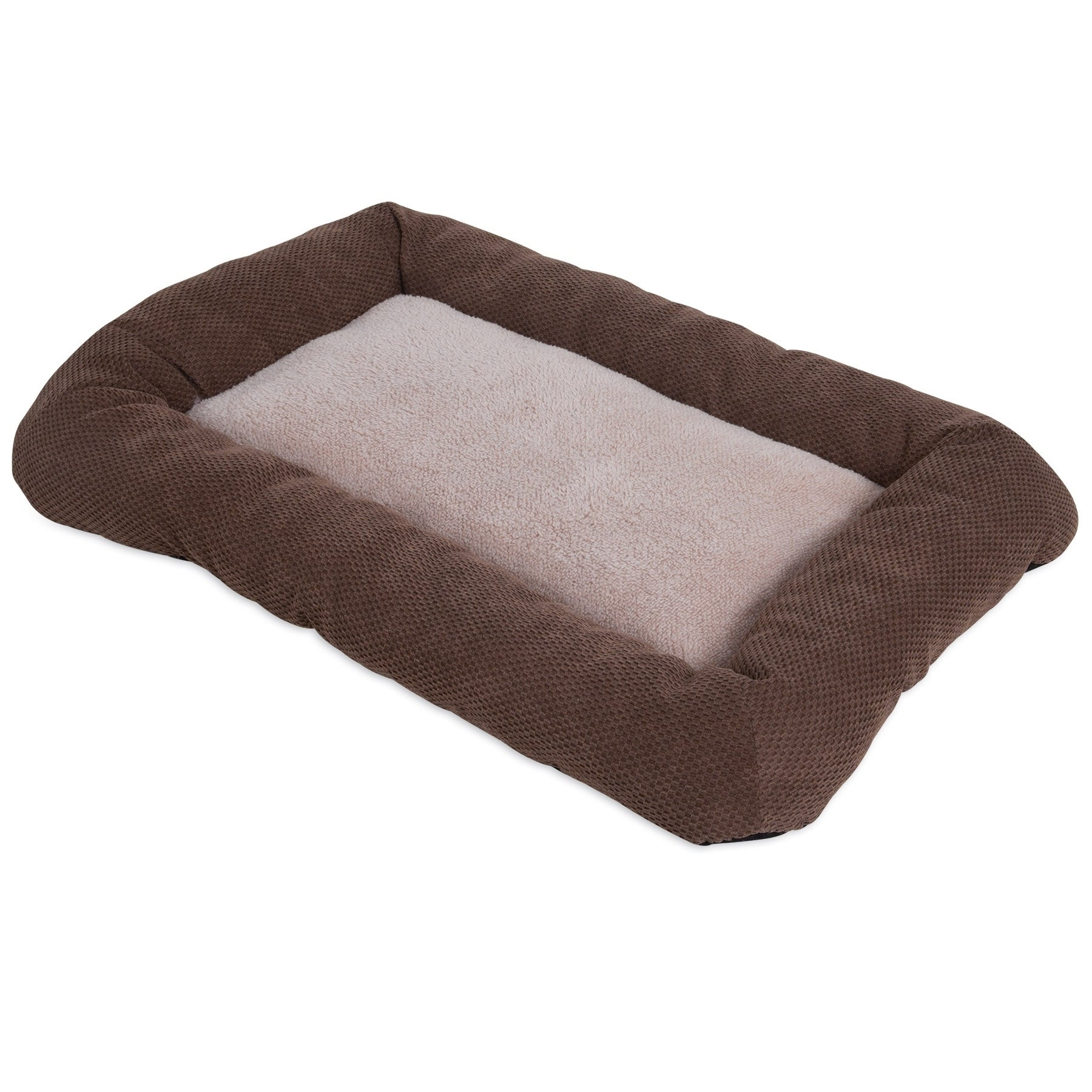 Precision Pet Precision Snoozzy Low Bumper Dog Crate Bed ...