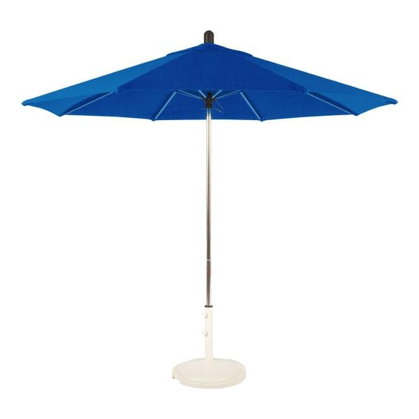 Amauri Outdoor Living Santa Barbara Collection Outdoor Patio Umbrella, 9ft  Round, With Sunbrella Shade