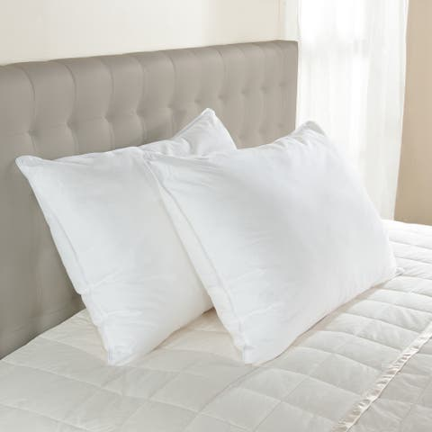 Hypoallergenic Medium Density EnviroLoft Down Alternative Pillow - White