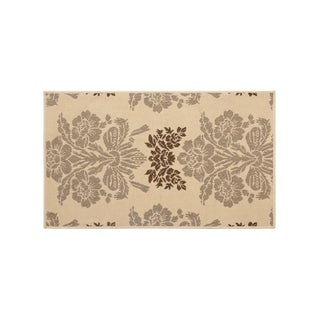 Laura Ashley Tatton Taupe Indoor/Outdoor Rug - (24 x 36 in.)