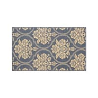 Laura Ashley Tatton in Chain Navy Accent Rug - (27 x 45 in.)