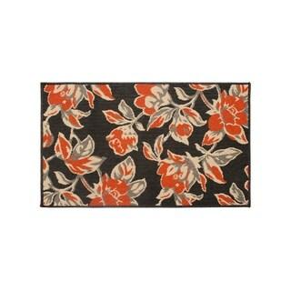 Laura Ashley Carlisle Orange Indoor/Outdoor Accent Rug - (24 x 36 in.)