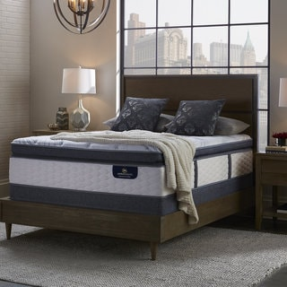 Serta Perfect Sleeper Brightmore Super Pillow Top Twin XL-size Mattress Set