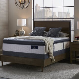 Serta Perfect Sleeper Brightmore Super Pillowtop Twin XL-size Mattress Set