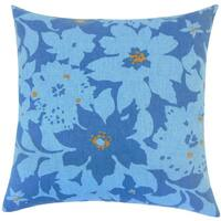 Ogima Floral 22-inch Down Feather Throw Pillow Calypso