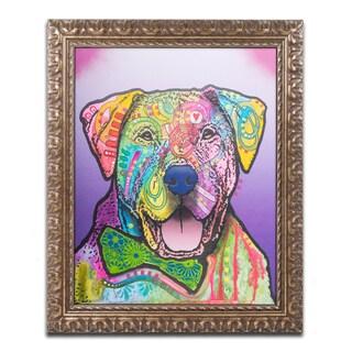 Dean Russo 'Charlie Brown Custom-002' Ornate Framed Art