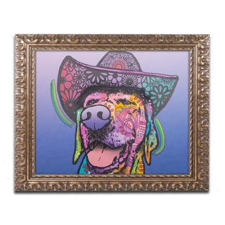 Dean Russo 'Penelope Custom-4' Ornate Framed Art