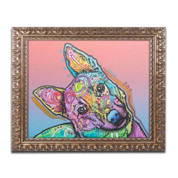 Dean Russo 'Abby Custom-4' Ornate Framed Art