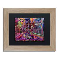 Josh Byer 'Posse' Matted Framed Art