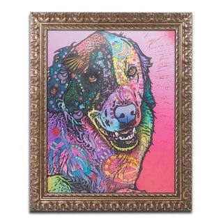 Dean Russo 'Splatter' Ornate Framed Art