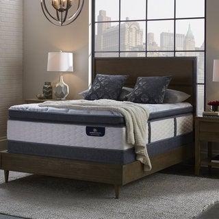 serta perfect sleeper brightmore super pillow top kingsize mattress set