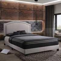 Deals on Acme Furniture Garresso Fog Fabric Queen Bed