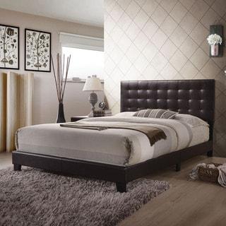 Acme Furniture Masate Espresso Leatherette Queen Bed