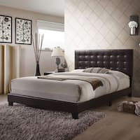 Acme Furniture Masate Espresso Leatherette Queen Bed