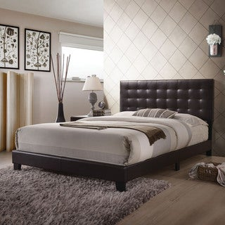 Acme Furniture Masate Espresso PU Queen Bed