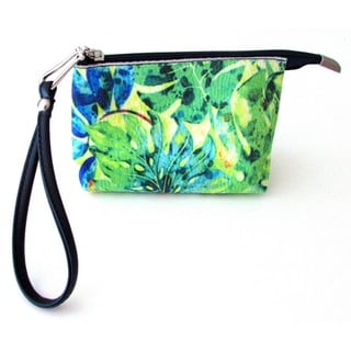 Link to Red Pomegranate Jungle Wristlet Cosmetic Toiletry Bag Similar Items in Wallets