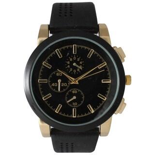 Olivia Pratt Men's Sporty Stylishly Perforated Watch One Size