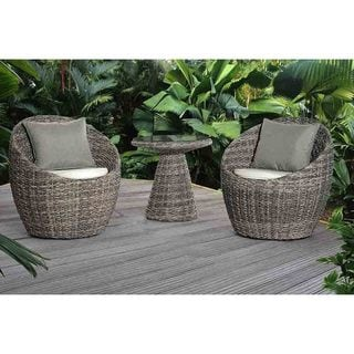 3pcs Salima Swivel Balcony Set