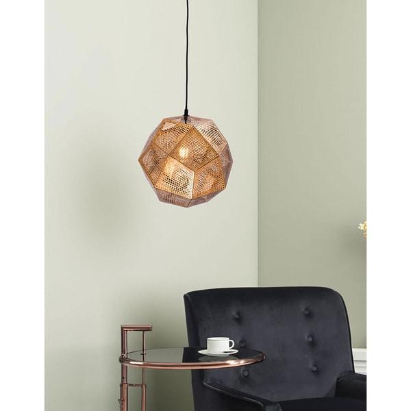 Haggerty Lane Goldtone Metal Ceiling Lamp