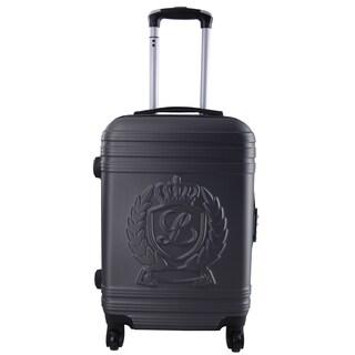 Lollipops Dark Grey 24-inch Expandable Hardside Spinner Suitcase