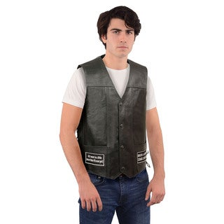 MEN'S SIDE LACE EAGLE & FLAG PRE-PATCHED VEST