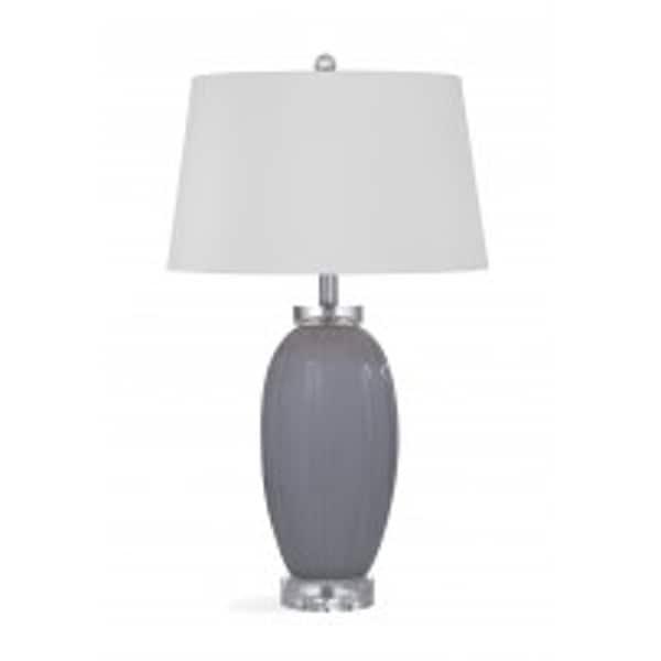 Bassett Mirror Company Ashbury Grey Ceramic Table Lamp