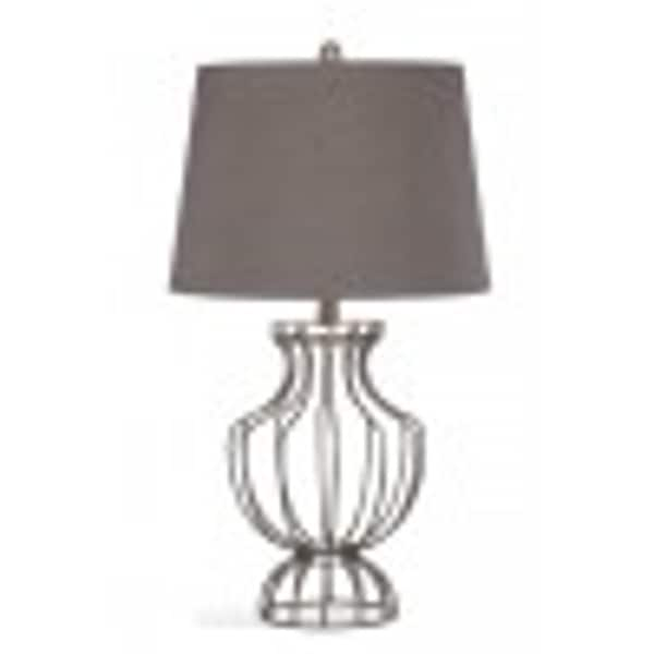 Bassett Mirror Company Whitney Brown Metal Table Lamp