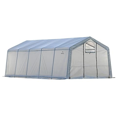 GrowIT Greenhouse-in-a-Box Pro Peak 12 x 20 ft. Greenhouse