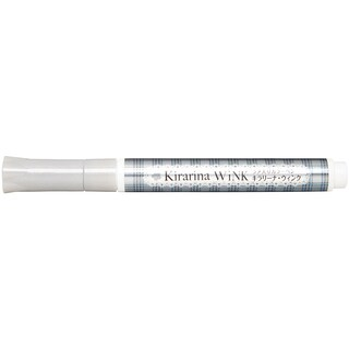 Kirarina Wink Glitter Pen-Silver Metallic