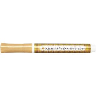 Kirarina Wink Glitter Pen-Gold Metallic