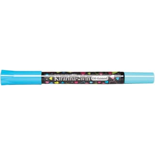Kirarina 2win Oil-Based Marker-Aqua