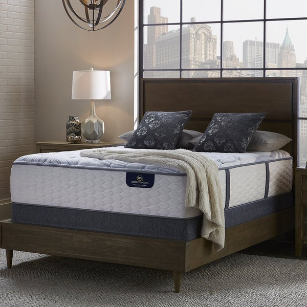 shop serta perfect sleeper brightmore luxury firm full size mattress set on sale free. Black Bedroom Furniture Sets. Home Design Ideas