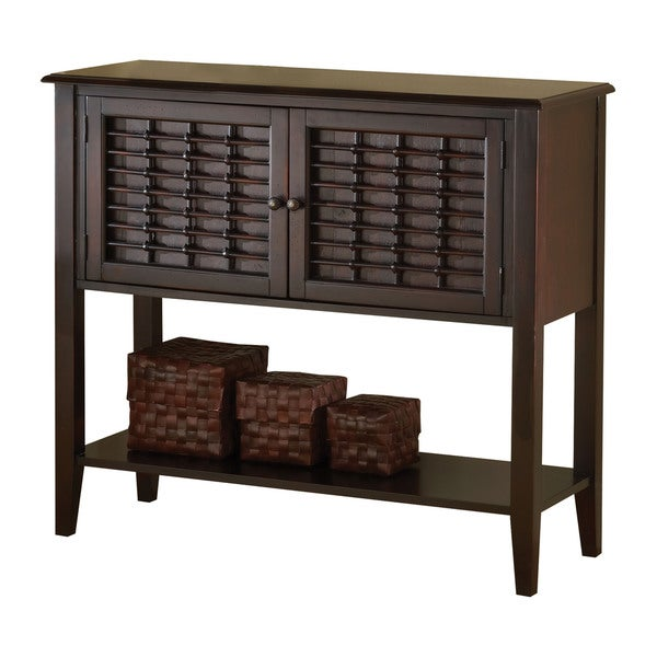 Hillsdale Furniture Bayberry Dark Cherry Finish Wood Server