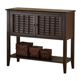 Hillsdale Furniture Bayberry Dark Cherry Finish Wood Server