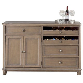 Hillsdale Furniture Savona Server in Vintage Grey FInish