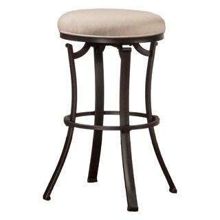 Hillsdale Furniture Bryce Midnight Mocha Backless Swivel Counter Stool