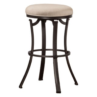 Hillsdale Furniture Bryce Midnight Mocha Backless Swivel Counter Stool