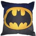 Lillowz Batman Symbol Canvas Throw Pillow 17-inch