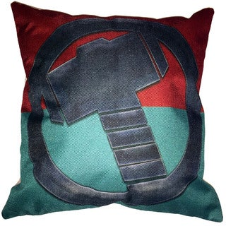 Lillowz Thor Symbol Canvas Throw Pillow 17-inch