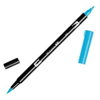 Tombow Dual Brush Marker Open Stock-493 Reflex Blue