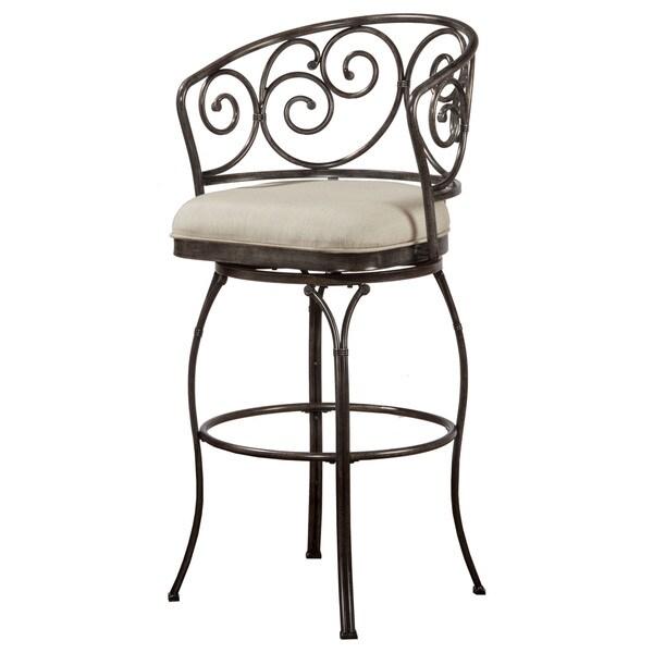 Shop Hillsdale Furniture Solana Brushed Pewter Upholstered
