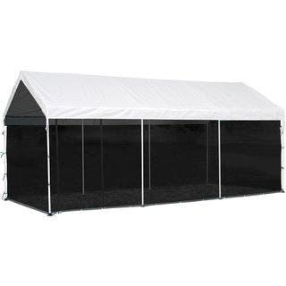 ShelterLogic 10 x 20ft. Black Screen House Enclosure Kit|https://ak1.ostkcdn.com/images/products/15268993/P21739680.jpg?impolicy=medium