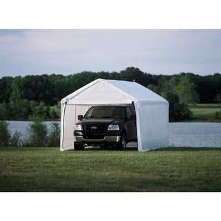 ShelterLogic Max AP 10 x 20ft. White Sidewalls and Doors Enclosure Kit