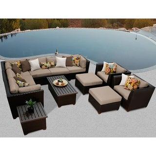 Barbados 12 Piece Outdoor Wicker Patio Furniture Set 12c