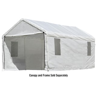 ShelterLogic Max AP 10 x 20ft. Canopy ClearView Enclosure Kit with Windows