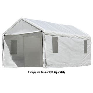 ShelterLogic Max AP 10 x 20ft. Canopy ClearView Enclosure Kit with Windows|https://ak1.ostkcdn.com/images/products/15269096/P21739682.jpg?impolicy=medium