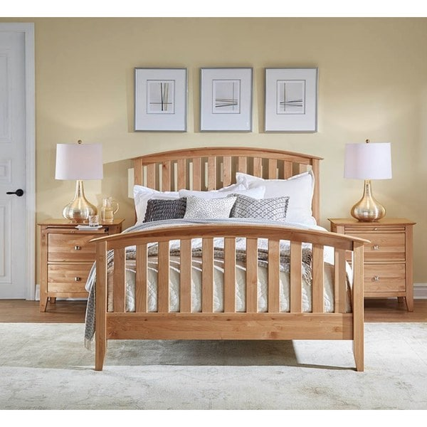 shop blaire 5 piece solid wood queen bedroom collection free shipping today overstock 15269097. Black Bedroom Furniture Sets. Home Design Ideas